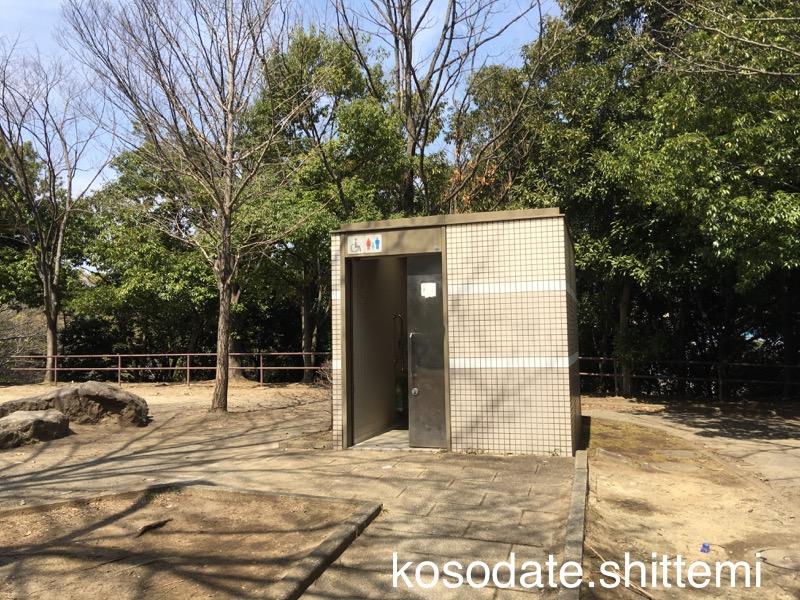 赤田東公園のトイレ