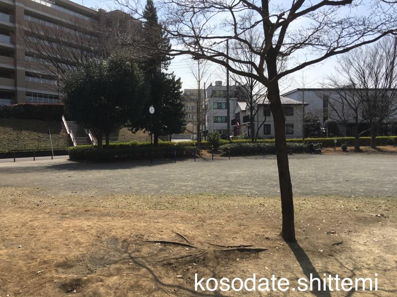 赤田東公園の鉄棒