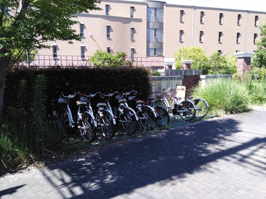 久本鴨居町公園 レンタル自転車