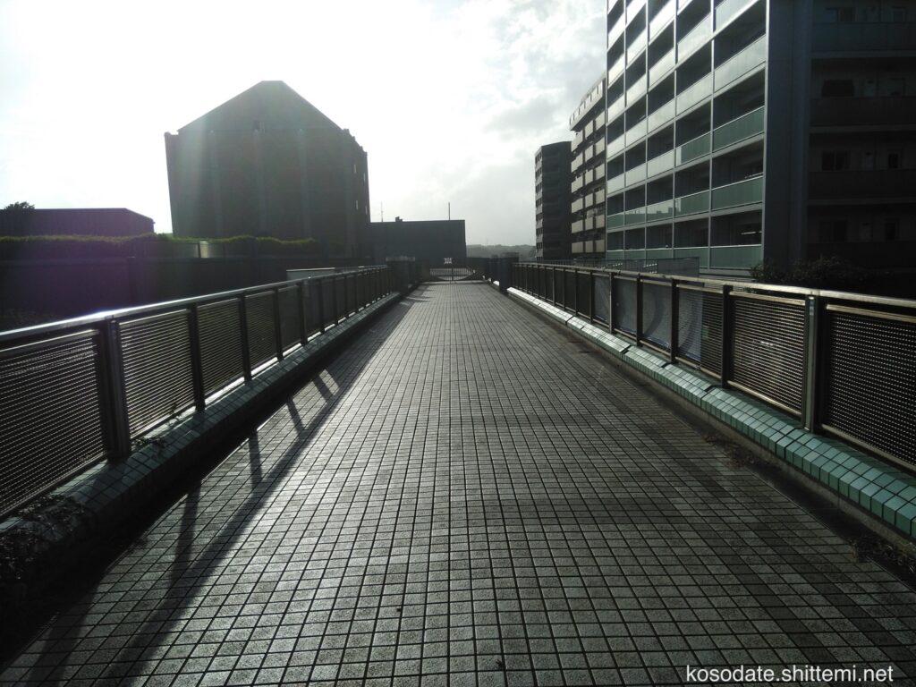 大塚・歳勝土遺跡公園 横浜市歴史博物館への歩道橋