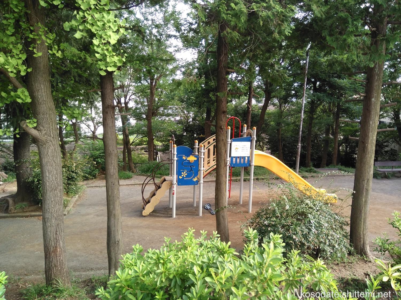 宮前平第2公園 すべり台