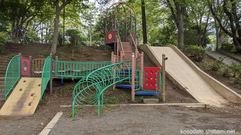 土橋7丁目公園 複合遊具