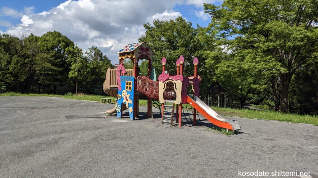 保木公園 複合遊具