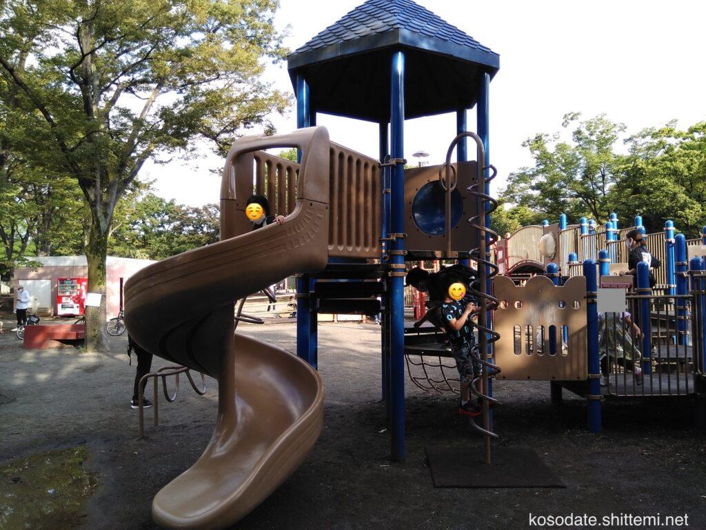 橘公園 複合遊具