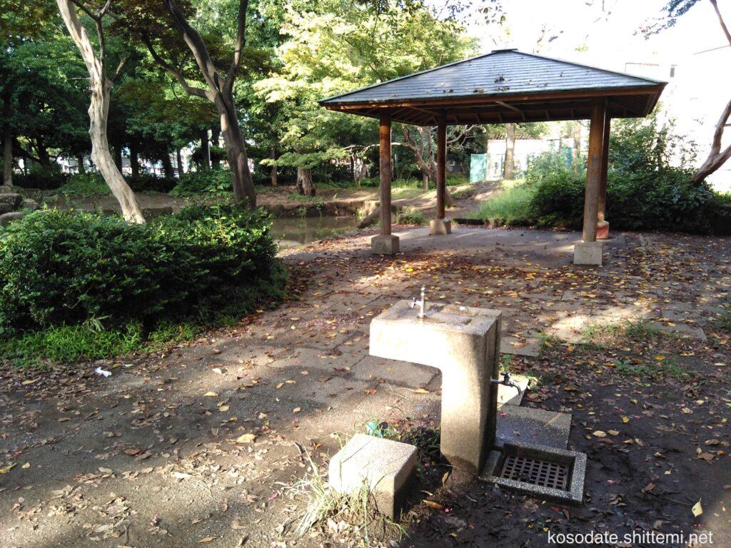 橘公園 水と緑の広場 手洗い場