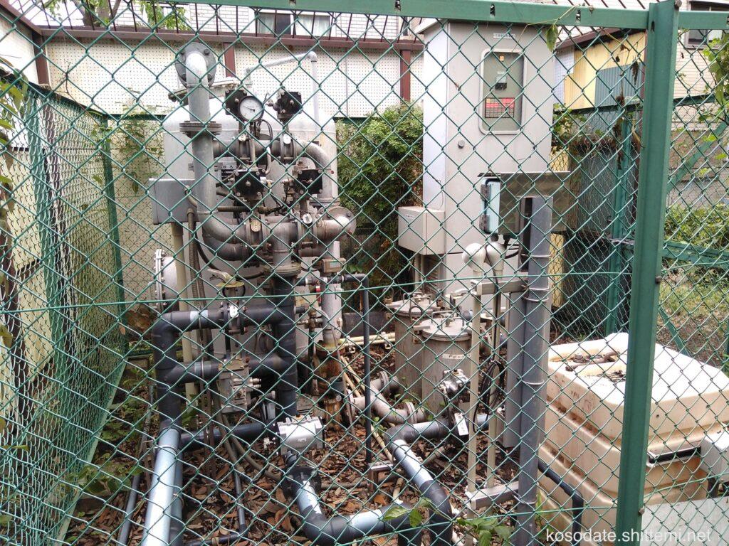 橘公園 水と緑の広場の機械