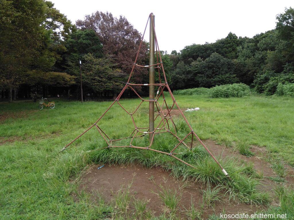 菅生緑地 ザイルクライミング