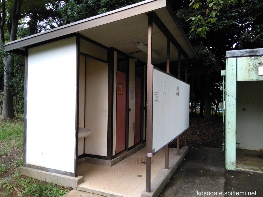 菅生緑地 女子トイレ