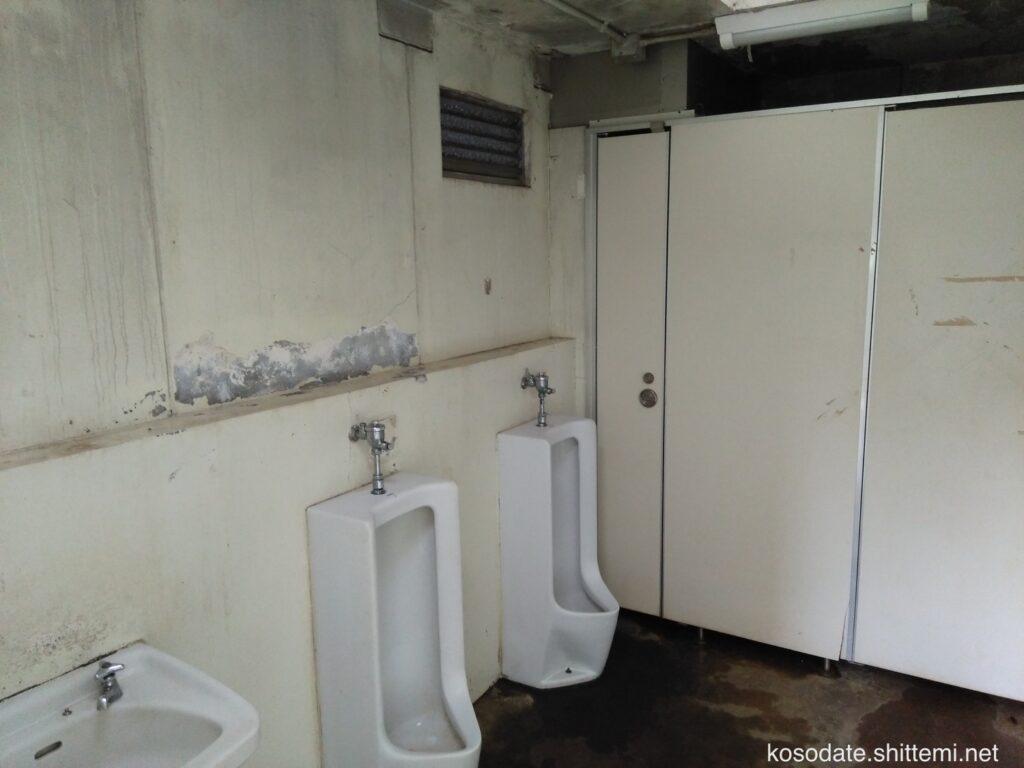 菅生緑地 男子トイレ