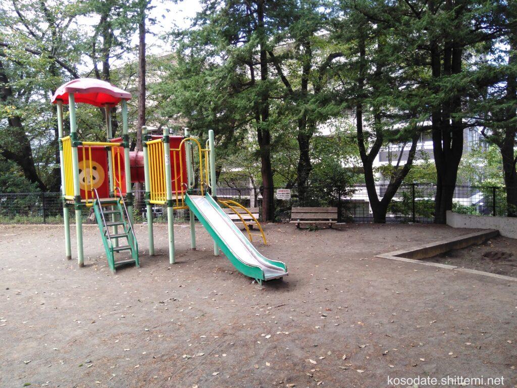 土橋2丁目公園 複合遊具
