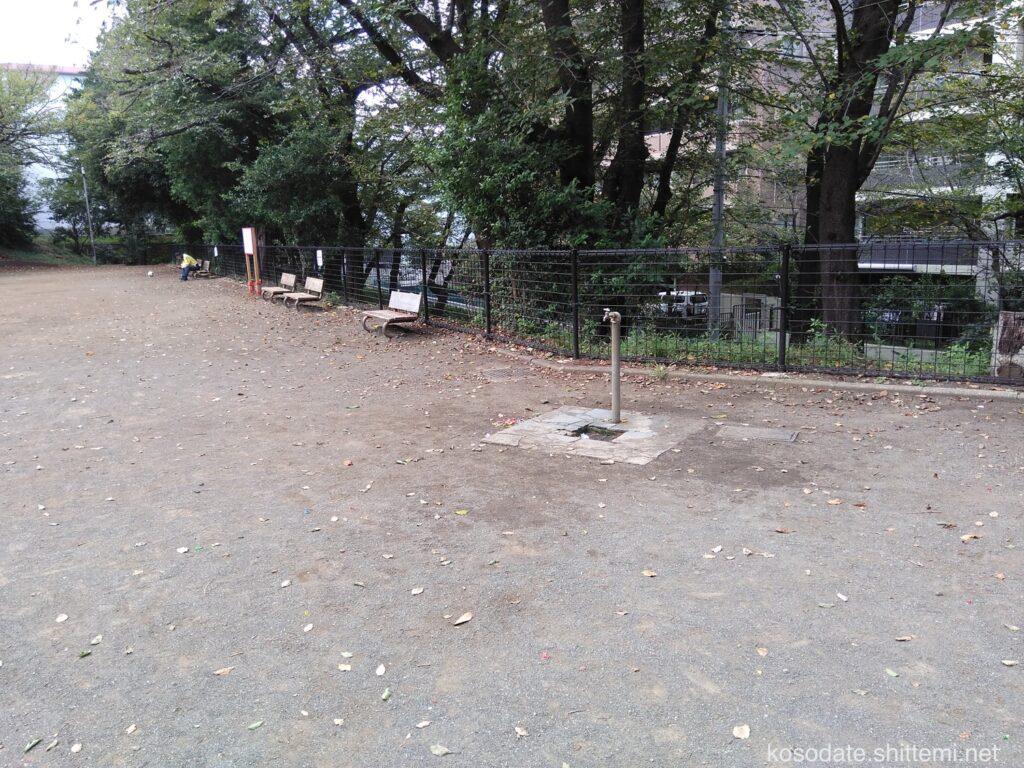 土橋2丁目公園 手洗い場